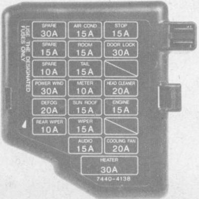 mazda b fuse box wiring diagrams